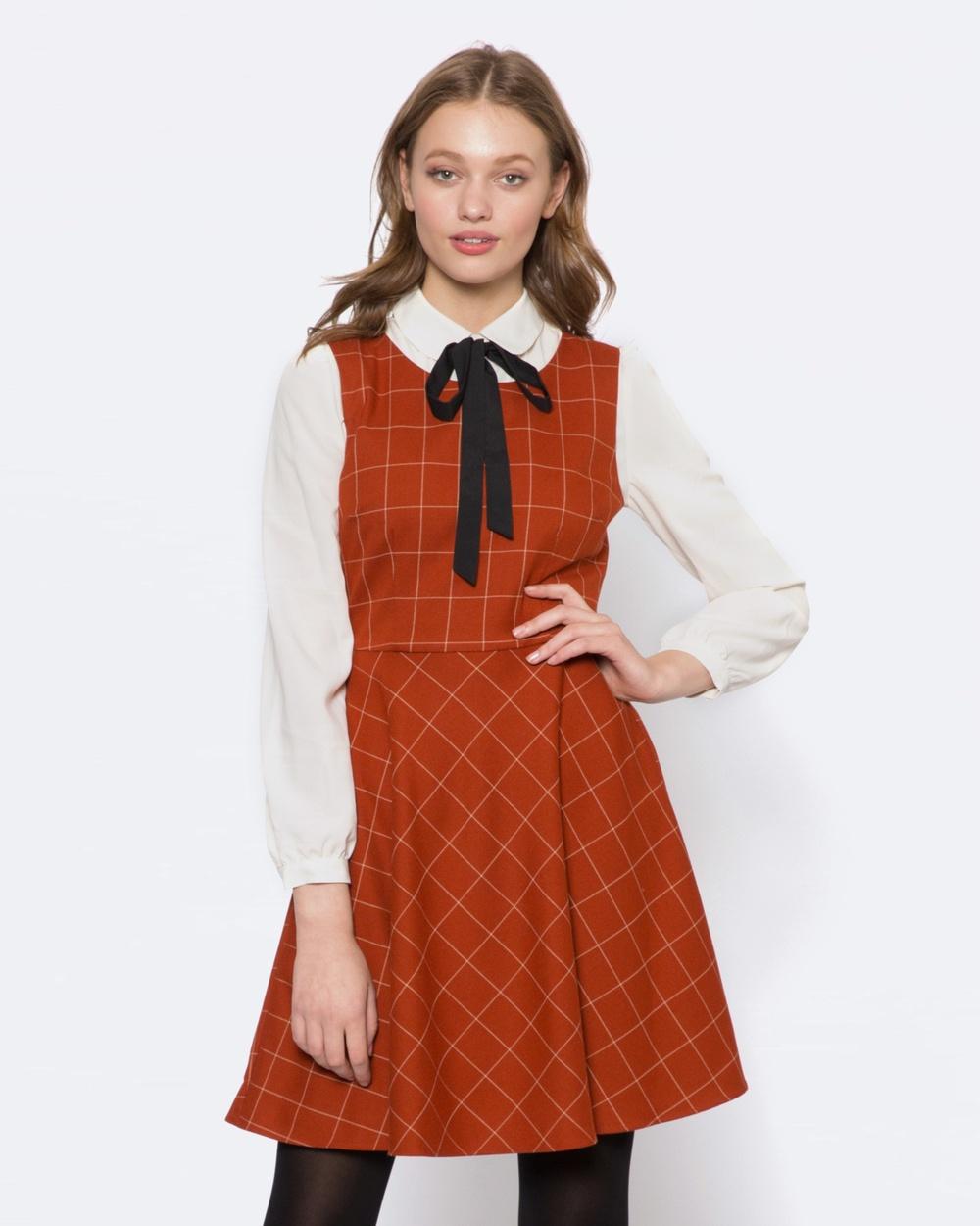 Princess Highway Eleonora Dress Dresses Orange Eleonora Dress