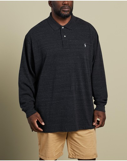 Polo Ralph Lauren - Plus Long Sleeve Knit Polo
