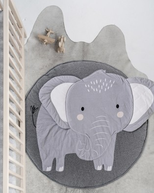 Mister Fly Elephant Playmat - Accessories (Charcoal)