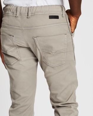 Diesel Krooley Ne Jogg Jeans - Tapered (Light Grey)