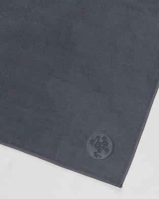 Manduka eQua Hand Towel - Gym Towels (Thunder)