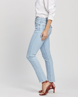 Levi's 501 Skinny Jeans - High-Waisted (Tango Kicks)