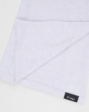 Mcintyre Lightweight Merino Scarf - Scarves & Gloves (Light Grey)