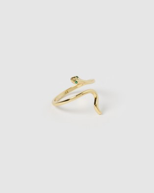 Izoa Serpent Ring - Jewellery (Gold)