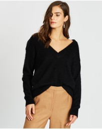 SABA - Minnie Mohair V-Neck Knit