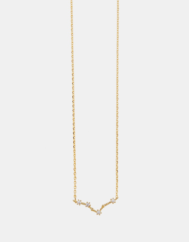 Pisces Necklace by Wanderlust + Co