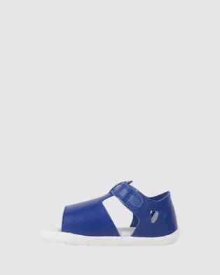 Bobux Step Up Mirror II Girls  - Sandals (Blueberry)