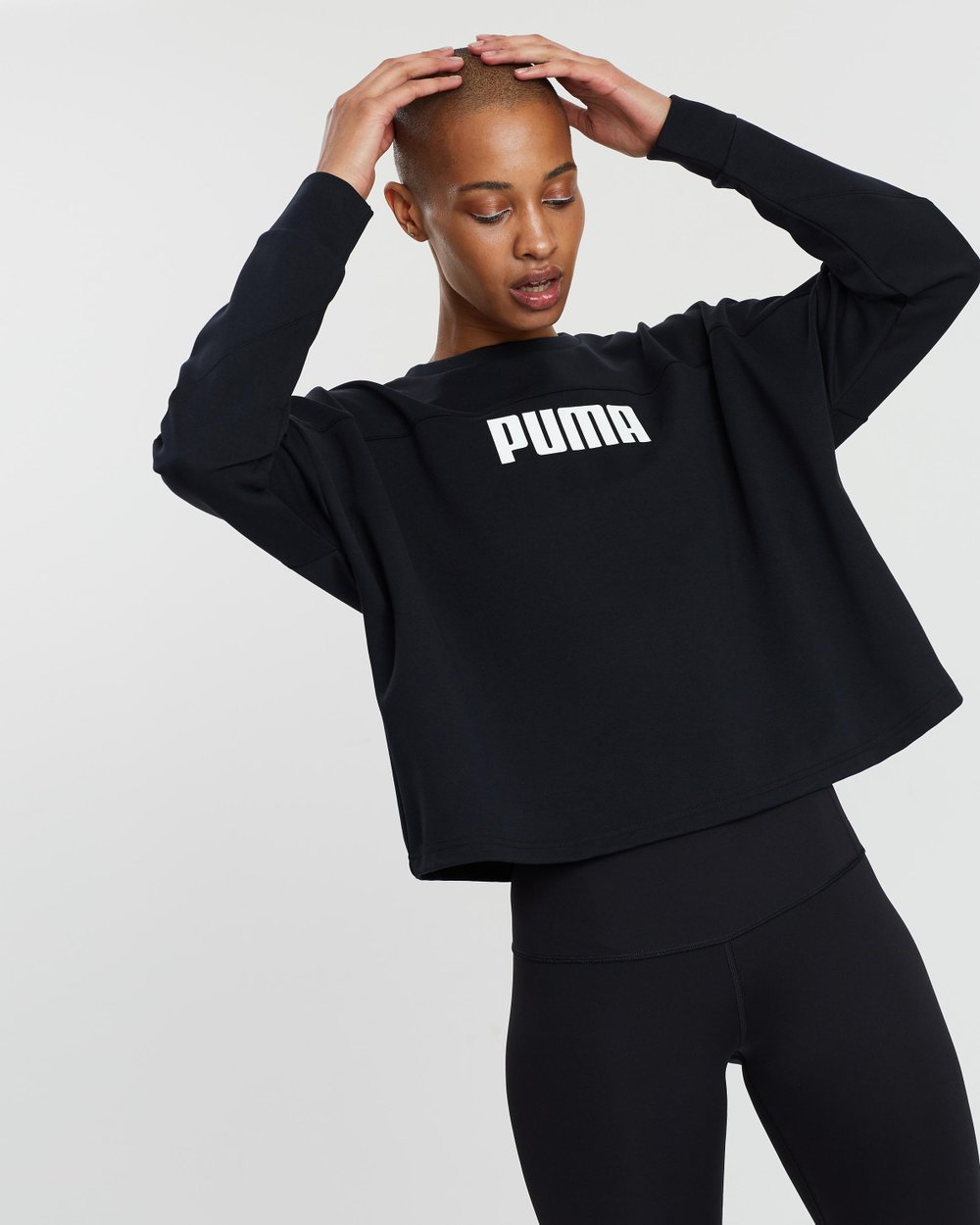 30487f52f9 Nu-Tility Cropped Crew Sweat