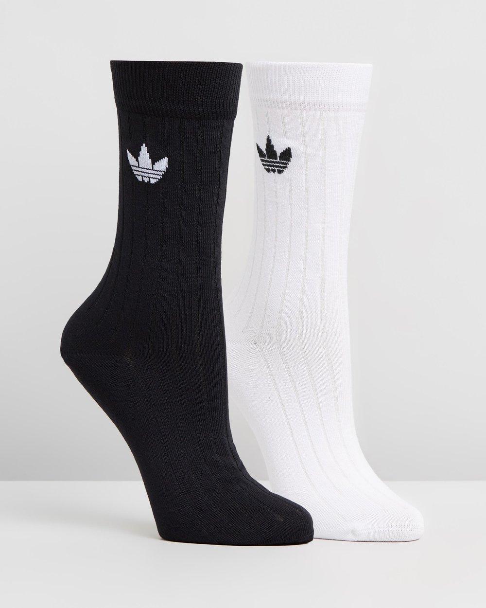 4ec2cd97ad9824 Ribbed Mid Crew Socks 2-Pack by adidas Originals Online