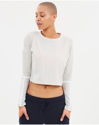Under Armour - Lighter Longer Cropped Crew