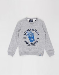 Scotch Shrunk - Crew Neck Sweater - Kids-Teens