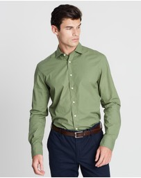 Hackett - Garment Dye Mini Texture Shirt