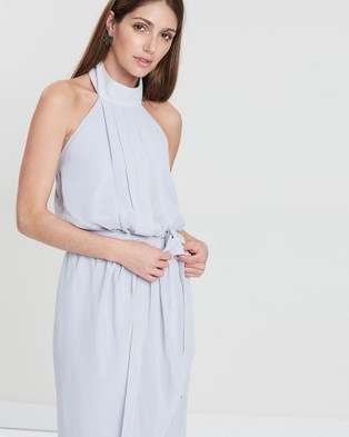 Esther Luxe Amaryllis Dress - Bridesmaid Dresses (Grey)