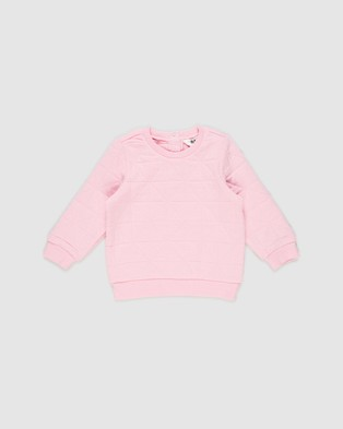 Cotton On Baby Greer Emerson Quilted Tracksuit Babies Sweats Cali Pink
