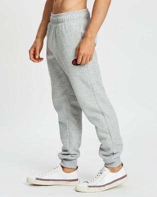 Champion C Logo Cuff Pants - Track Pants (Oxford Heather)