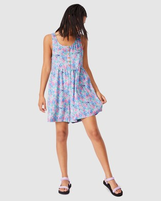 Cotton On Body Kip & Co Mama Playsuit - Jumpsuits & Playsuits (Licence Kip Petal Power)