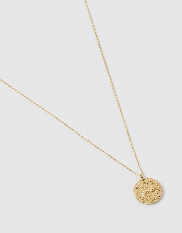 Women Star Sign Necklace Aries