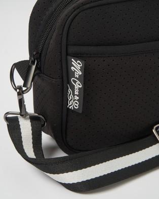 Miz Casa and Co Lola Crossbody Neoprene Bag - Bags (Black)