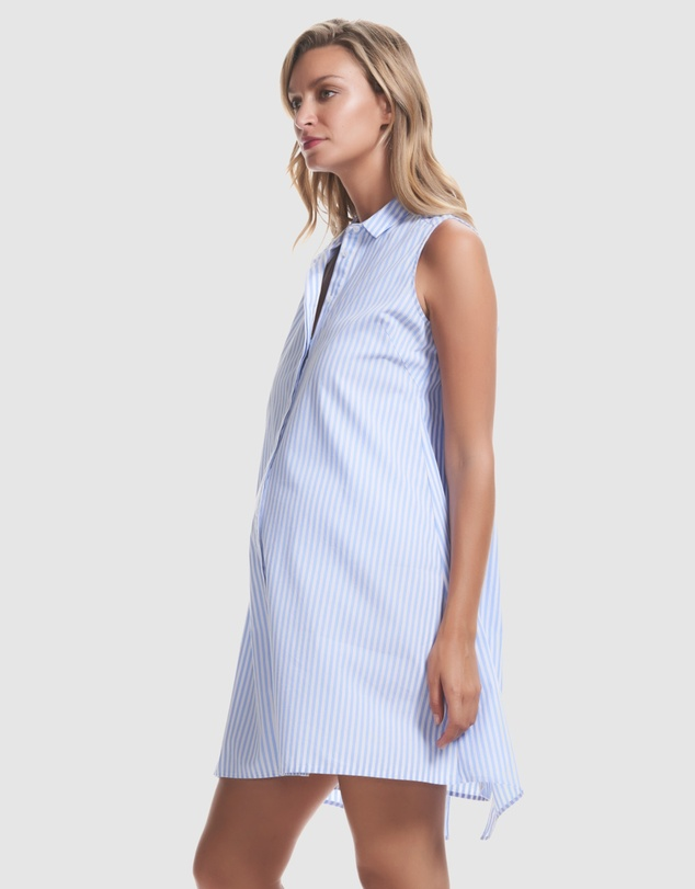 Soon Maternity - Eva Pleat Back Dress