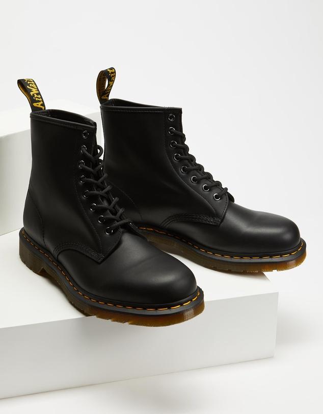 Women Unisex 1460 Nappa 8-Eye Boots