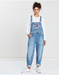 Faded Regular Denim Dungarees