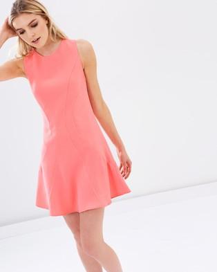 Honey and Beau – Isabella Flip Dress Pink