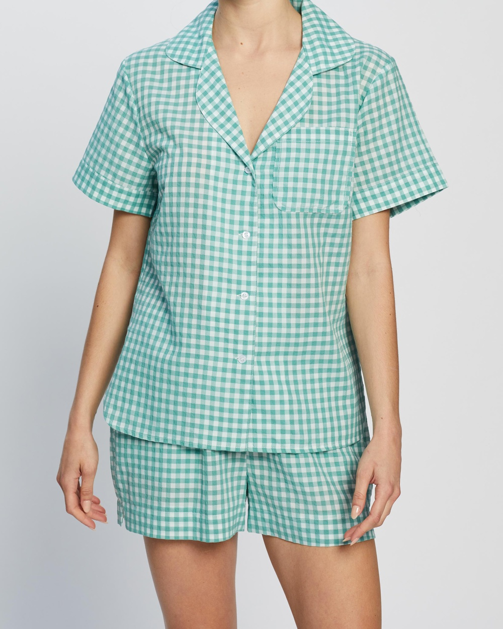 Short Cotton PJ Set - Two-piece sets