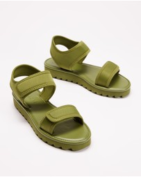 TWOOBS - Olive Low Sandal