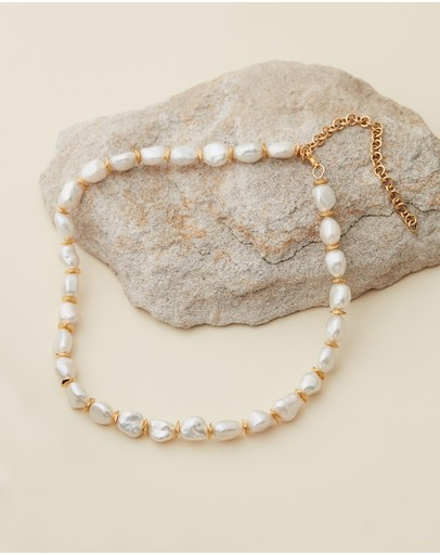 Amber Sceats Violet Necklace Gold