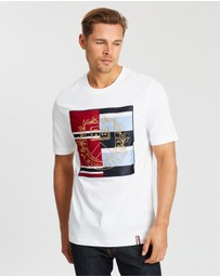 Tommy Hilfiger - ​Mixed Crest Relaxed Fit Tee