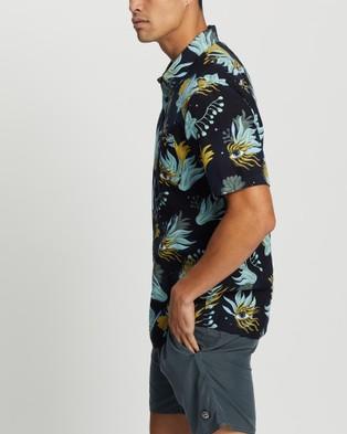 Volcom Solarizer Short Sleeve Shirt - Shirts & Polos (Blue)