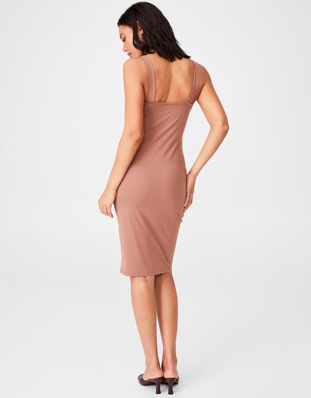 Women Day To Night Bodycon Cut-Out Midi Dress