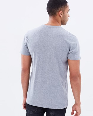 Deus Ex Machina Frontal Matchless Tee - T-Shirts & Singlets (Grey Marle)