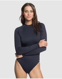 Roxy - Womens Mind Of Freedom Long Sleeve UPF 50 One Piece Swimsuit