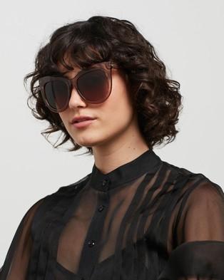 Le Specs Hidden Treasure Sunglasses Tan