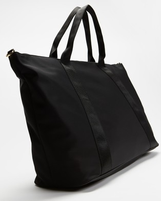 Ted Baker Naahla Nylon Large Tote - Handbags (Black)