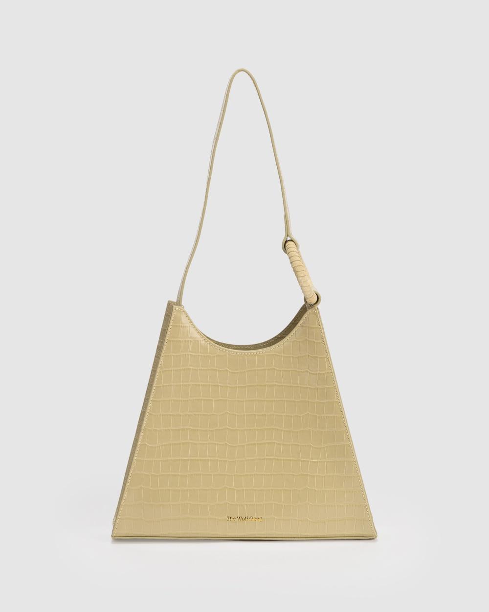 The Wolf Gang Odette Shoulder Handbags Bag Green