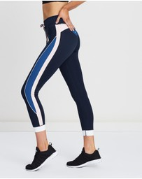 The Upside - Colour-Blocked Midi Pants