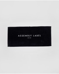 Assembly Label - Assembly Lux Towel