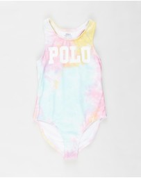 Polo Ralph Lauren - Tie-Dye Printed One-Piece - Kids