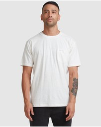 RVCA - Hemp Natural Short Sleeve Crew