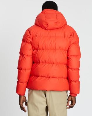 RAINS Puffer Jacket   Unisex - Coats & Jackets (Red)