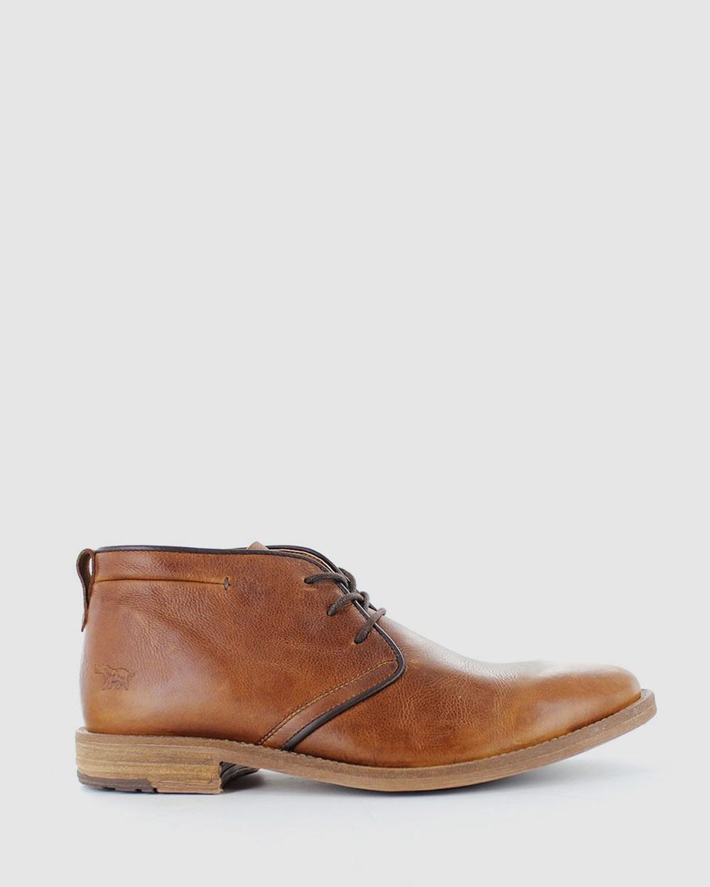 Wild Rhino Utah Boots Casual Shoes Brown