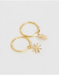SAINT VALENTINE - Mini Starry Hoops