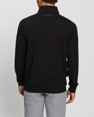TravisMathew Zachary Golf Pullover - Sweats (Black)
