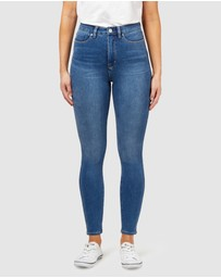 Jeanswest - Freeform 360 Contour High Waisted Skinny 7/8 Jeans