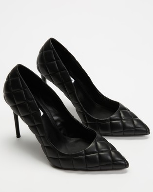 Steve Madden Quilted Vala - All Pumps (Black)