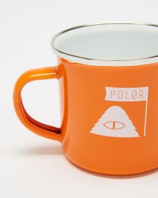 Poler Camp Mug Home Orange