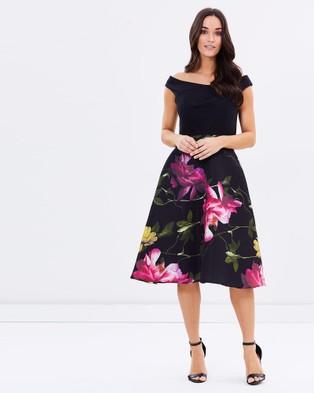 Montique – Kyra Printed Dress