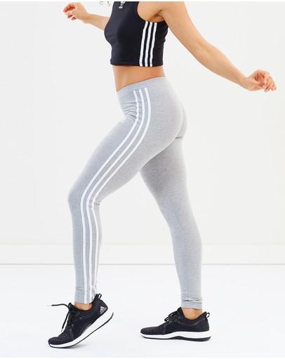 Adidas Originals 3-stripes Tights Medium Grey Heather